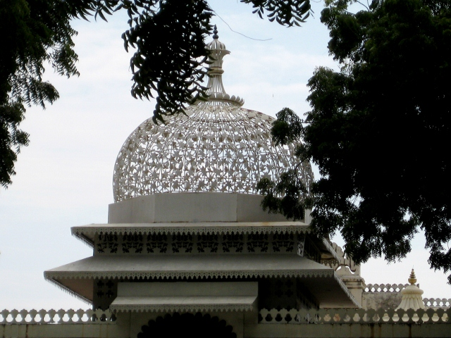 Udaipur - City Palace Complex - Carved Dome